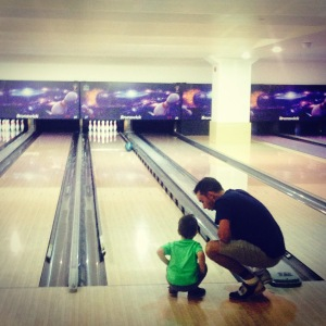 Father/Son bowling